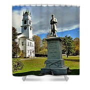 Lyme New Hampshire Shower Curtain