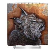 Lynx Face Shower Curtain