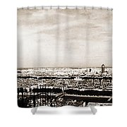 Lyon From The Basilique De Fourviere Shower Curtain