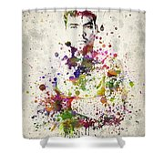 Lyoto Machida Shower Curtain