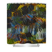 Intuitive Painting  609 Shower Curtain
