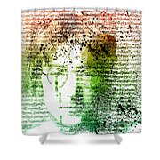 Lyrical Memories  Shower Curtain