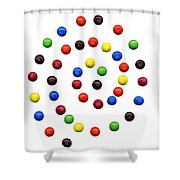 M And M 1 Shower Curtain