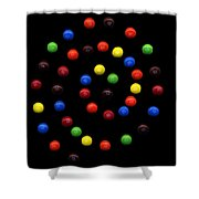 M And M 3 Shower Curtain