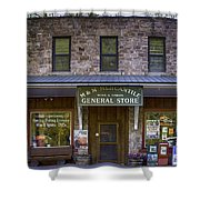 M And M Mercantile Shower Curtain
