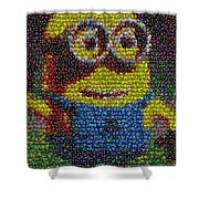 M And M Minion   Shower Curtain