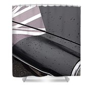 M G B Graphic Shower Curtain