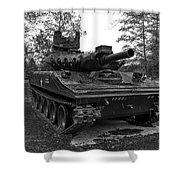 M551a1 Sheridan Tank Shower Curtain