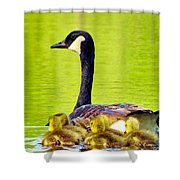 Ma And Kids Shower Curtain