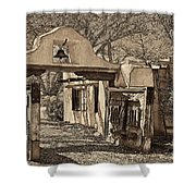 Mabel's Gate - A Different View Shower Curtain