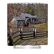 Mabry Mill 2 Shower Curtain