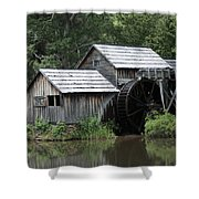Mabry Mill - Blue Ridge Mountains Shower Curtain