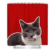 Mac Attack-custom Order Shower Curtain