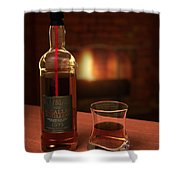 Macallan 1973 Shower Curtain by Adam Romanowicz