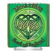 Macateer Soul Of Ireland Shower Curtain