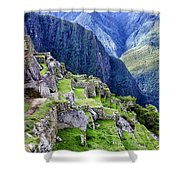 Macchu Picchu Peru - Ruins Shower Curtain