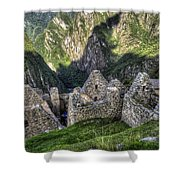 Macchu Picchu - Peru - South America Shower Curtain