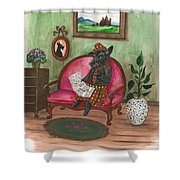 Macduff After Work Shower Curtain