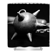 Mace  Medieval Weapon Shower Curtain