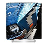 Mach 1 Ford Mustang 1971 Shower Curtain
