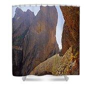 Machete Ridge From North Shower Curtain