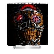 Machine Head Shower Curtain