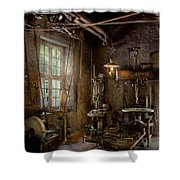 Machinist - Industrial Revolution Shower Curtain
