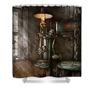 Machinist - Where Inventions Are Born Shower Curtain
