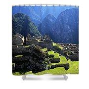 Machu Picchu And Urubamba Canyon Shower Curtain