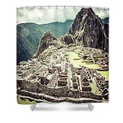 Machu Picchu Shower Curtain