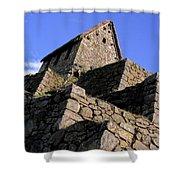 Machu Picchu Hut Peru Shower Curtain