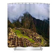 Machu Picchu Overlook Shower Curtain