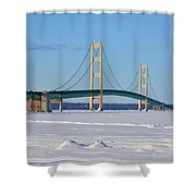 Mackinac In March Shower Curtain
