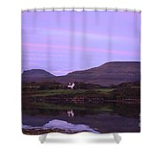 Macleod's Tables With A Painted Sky Shower Curtain