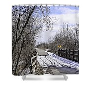 Macomb Orchard Trail Shower Curtain