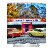 Mac's Drive In Shower Curtain