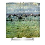 Mactan Island Bay Shower Curtain