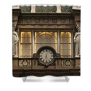 Macy's Clock Shower Curtain