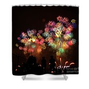 Macy's July 4th Fireworks New York City  Shower Curtain