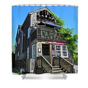 Mad In Edgartown Shower Curtain
