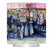 Mad Man Of Market And Main Singapore Shower Curtain