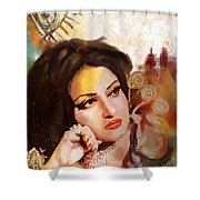 Madam Noor Jehan Shower Curtain