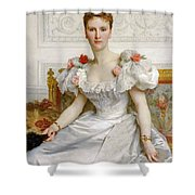 Madam The Countess Of Cambaceres Shower Curtain