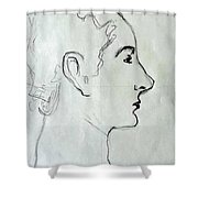 Madam X Shower Curtain
