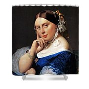 Madame Delphine Ingres Shower Curtain