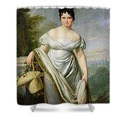 Madame Tallien 1773-1835 Oil On Canvas Shower Curtain