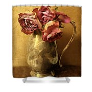Madeira Roses Shower Curtain