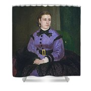 Mademoiselle Sicot Shower Curtain