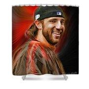 Madison Bumgarner San Francisco Giants Shower Curtain