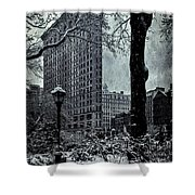 Madison Square And The Flatiron Building Shower Curtain